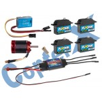 CopterX (CX500EPP-FBL-V2) 500 Flybarless Electronic Parts Package V2