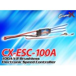 CopterX (CX-ESC-100A) 100A V2 Brushless Electronic Speed Controller