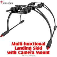 DragonSky (DS-FPV-CM) Multi-functional Landing Skid with Camera Mount for FPV System