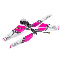 SH (SH-6020-1-HEAD-P) 6020-1 Swift 3CH Helicopters Complete Rotor Head Assembly Set (Pink)