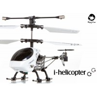 Happy Cow (HC-777-172-W) iPhone controlled i-helicopter 3CH Helicopter With Gyroscopes System Infrared RTF (White)