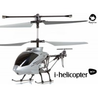 Happy Cow (HC-777-173-S) iPhone controlled i-helicopter air 3CH Helicopter With Gyroscopes System Infrared RTF (Silver)