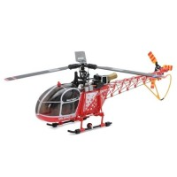 Nine Eagles Solo Pro 290 Lama LA315 3D 3 Axis Gyro 6CH 3-Blade Helicopter with J6 transmitter - 2.4GHz