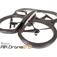Parrot AR. Drone V2.0 Quadricopter Controlleed by iPod Touch, iPhone, iPad and Android Devices