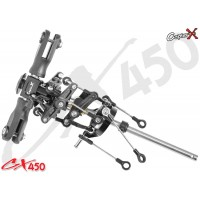 CopterX (CX450-01-30) Metal & Plastic Main Rotor Head Set