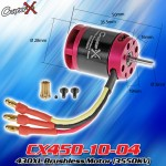 CopterX (CX450-10-04) 430XL Brushless Motor (3550KV)
