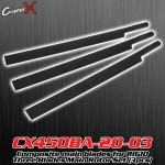 CopterX (CX450BA-20-03) Composite main blades for RIGID Three Blades Main Rotor Set (3pcs)