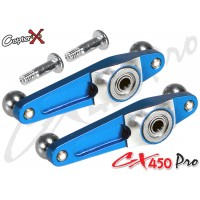 CopterX (CX450PRO-01-05) Metal Flybar Control Arm Set