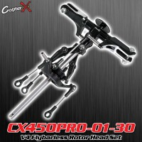 CopterX (CX450PRO-01-30) V4 Flybarless Rotor Head Set