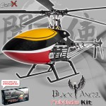 CopterX CX450BAMB5 Black Angel Five-blades Helicopter Kit