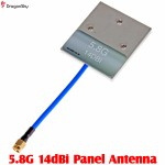 DragonSky (DS-FPV-5.8G-14DBI) 5.8G 14dBi Panel Antenna