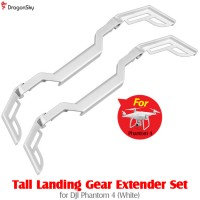 DragonSky (DS-P4-LGEX-W) Tall Landing Gear Extender Set for DJI Phantom 4 (White)