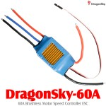 DragonSky (DragonSky-60A) 60A Brushless Motor Speed Controller ESC