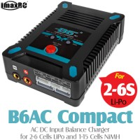 iMaxRC (IMAXRC-B6AC-COMPACT) B6AC Compact AC DC Input Balance Charger for 2-6 Cells LiPo and 1-15 Cells NiMH