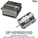 Speed Passion (SP-SP000190) Reventon-R 70A ESC (Silver) with Competition V3.0 6.5R Brushless Motor Combo
