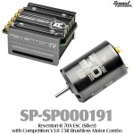 Speed Passion (SP-SP000191) Reventon-R 70A ESC (Silver) with Competition V3.0 7.5R Brushless Motor Combo