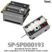 Speed Passion (SP-SP000193) Reventon-R 70A ESC (Silver) with Competition V3.0 10.5R Brushless Motor Combo
