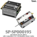 Speed Passion (SP-SP000195) Reventon-R 70A ESC (Silver) with Competition V3.0 17.5R Brushless Motor Combo
