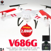 WLTOYS V686G Super Aviator 4CH FPV Quadcopter RTF (Mode 2)