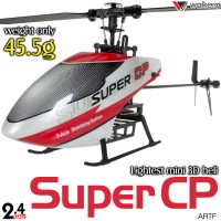 WALKERA Super CP 3D 3G Gyro System 6CH Helicopter without Transmitter ARTF - 2.4GHz