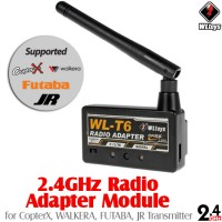 WLTOYS (WL-T6) 2.4GHz Radio Adapter Module for CopterX, WALKERA, FUTABA, JR Transmitter